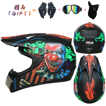 Motor Bike Cross Racing Motorcycle Helmet Safety Enduro Capacete Motorrad Cascos Downhill Bicycle Engine Cafe Racer ATV Helmets 16