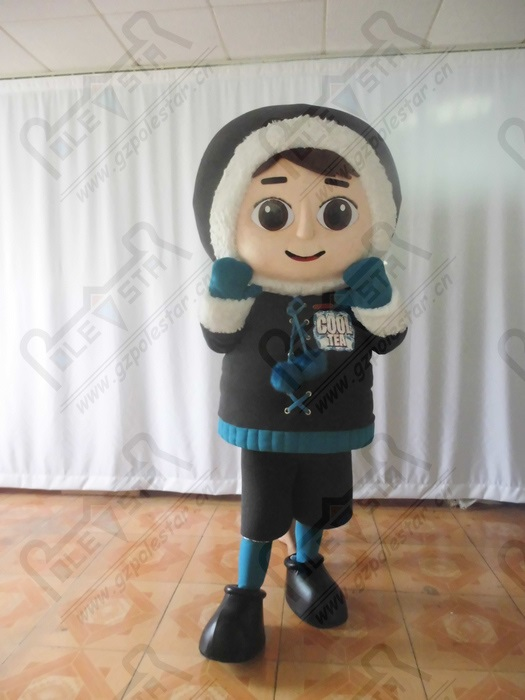 quality snow girl mascot  costumes cartoon papa old man mascot design