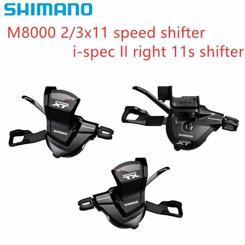 Shimano SL-M8000 XT Rapidfire pods 11 speed right hand