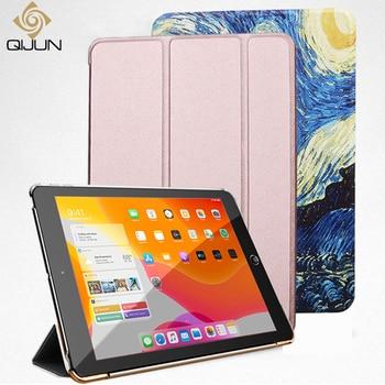Чехол для Samusng Galaxy Tab A A6 7,0 ''2016 T280 SM-T280, флип-чехол тройного сложения, чехол-подставка из искусственной кожи, полностью умный чехол с автоматическим выходом из спящего режима