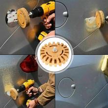 4 אינץ 20mm רכב גומי מחק גלגל מדבקת צבע מסיר גלגל מדבקות דבק קלטת מנקה רכב פולני עזר כלי