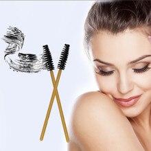 100pcs eyelash brushes Disposable lash brush for eyelashes mascara wands applicator eyebrow extension Makeup Tools
