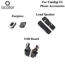 Ocolor עבור Umidigi F2 USB תשלום לוח אפרכסת רמקול חזק עצרת חלקים עבור Umidigi F2 USB לוח אפרכסת רמקול חזק