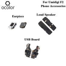 ocolor For Umidigi F2 USB Charge Board Earpiece Loud Speaker Assembly Parts For Umidigi F2 USB Board Earpiece Loud Speaker