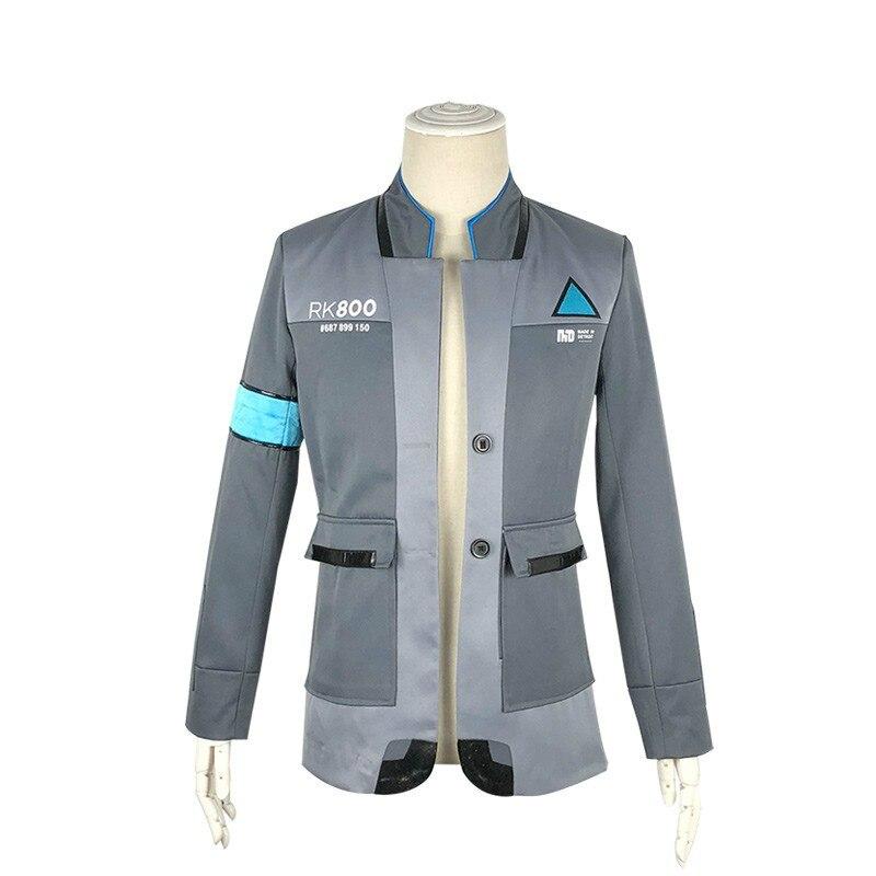 Detroit Become Human Connor Jacket cosplay costume Coat Halloween