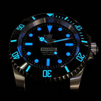 200M Diving Mechanical Watch Men Sport NH35 Automatic Mens Diver Stainless Steel Sapphire Crystal Wristwatch Luxury Brand - discount item  60% OFF Men's Watches