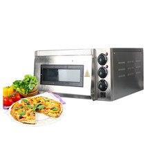 Forno de pizza elétrico de aço inoxidável bolo de frango assado fogão de pizza uso comercial máquina de cozimento 220v longo-tempo de trabalho