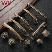 WV manija de muebles antiguos perillas de armarios de cajón Vintage manijas tiradores de puertas tiradores de armario muebles de cocina 384