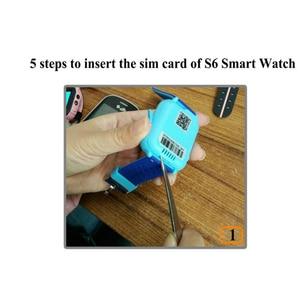 Image 3 - S6 Kids Smart Watch Children SOS Call Location Finder Locator Tracker Camera Game HD 1.44 Inch Screen Smartwatch