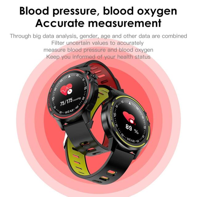 LEMDIOE 2019 ecg+ppg smart watch men ip68 waterproof  whatsapp push sports health smartwatch for men women