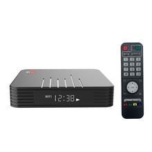 Magicsee N5 Max Amlogic S905X3 אנדרואיד 9.0 טלוויזיה תיבת 4G 32G/64G Rom 2.4 + 5G הכפול Wifi Bluetooth4.0 חכם תיבת 4K LAN 100M סט Top Box