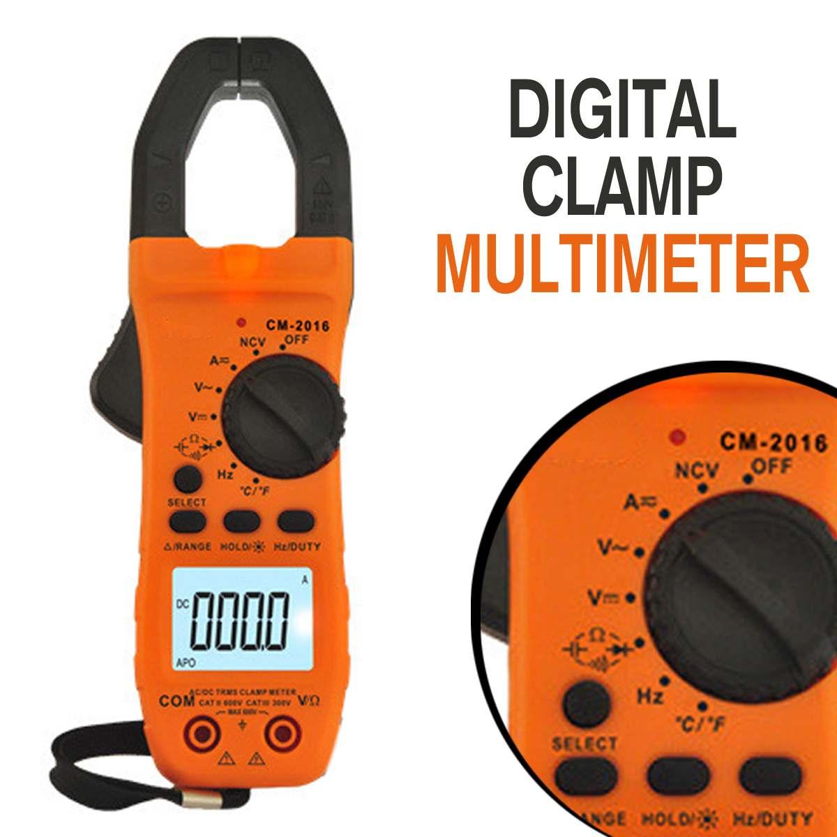 Medidor de Braçadeira Zeast Digital Trms Multímetro Ncv ac – dc Volt Resistência Capacitância Tester Amperímetro E42224 6000