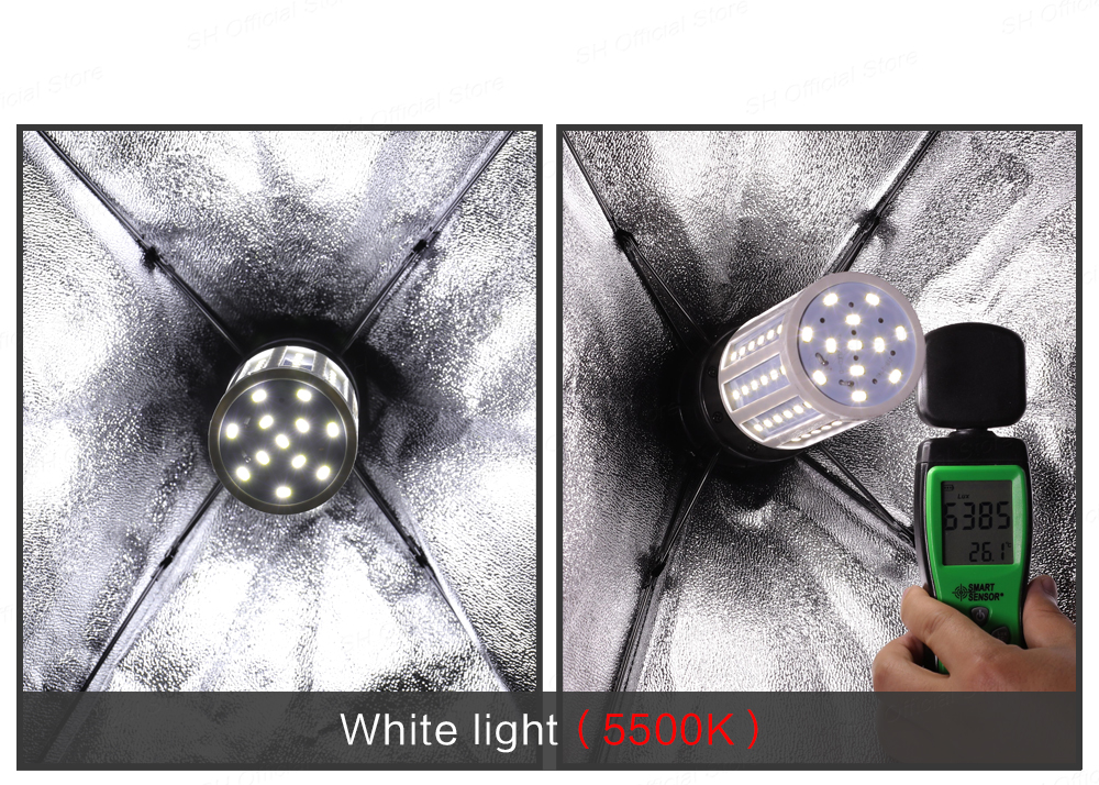 H6439561989634e3fb8998171b36f8a87k Photography 50x70CM Softbox Lighting Kits Professional Light System With E27 Photographic Bulbs Photo Studio Equipment
