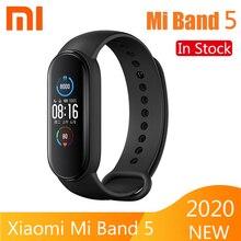 Xiaomi Mi bande 5 Bracelet intelligent 4 couleurs AMOLED écran fréquence cardiaque Fitness Bluetooth sport étanche Bracelet Mi bande 4 5 montre