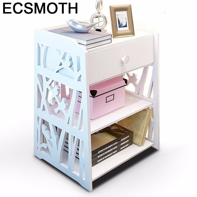 Noche Para El Camera Da Letto Cassettiera Legno European Wood Cabinet Quarto Bedroom Furniture Mueble De Dormitorio Nightstand