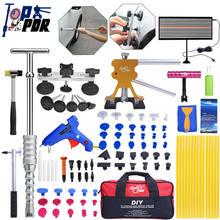 Super PDR Werkzeuge Slide Hammer Dent Puller Lifter Paintless Hagel Entfernung LED Linie Bord Reparatur Kit