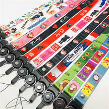 Anime Cute Cartoon Neck Strap Lanyard for keys ID Card Gym Mobile Phone Straps USB badge holder DIY Hang Rope Lariat Lanyards cute cartoon neck strap lanyards for keys id card gym mobile phone straps usb badge holder diy hang rope lariat lanyard