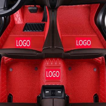 CARFUNNY Custom fit Anti-dirty car floor mats for Panamera 911 cayman cayenne maoan car styling carpet
