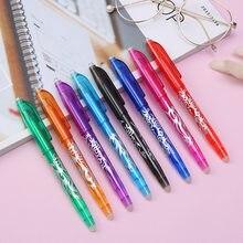 8 kolorów zmazywalny długopis 8 kolorów zestaw długopisów żelowych style Rainbow nowy najlepszy sprzedawanie kreatywny rysunek piśmienne długopisy szkolne