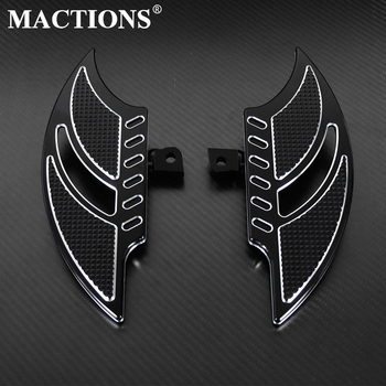 Motorcycle Black Floorboards Foot Pegs Footrest Pedals For Harley Sportster 883 1200 XL Touoring Electra Glide Road King Dyna for harley sportster xl models 883 xl883 xl1200 touring road king street highway adjustable clamps footrest footpeg foot pegs