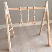 Beads-Toys Bed-Decorative Crib Nordic-Ornaments Wooden Baby Child Tent Pendant Strings
