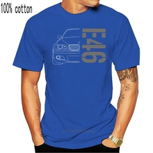T-Shirt E46 E 46 Classic Drift Series 3 Car 2020 Summer Style Brand Casual O-Neck Male Tops & Tees Printing on T Shirts