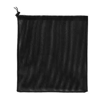 Torba z filtrem pompy kompaktowa wytrzymała siatkowa torba z woreczkiem z klamrą ze sznurkiem do zewnętrznego basenu staw 17 7 #215 17 7 tanie i dobre opinie other Pump Filter Bag knit mesh 1 pcs thick drawstring filtered durable about 45 x 45 cm 17 7 x 17 7 in