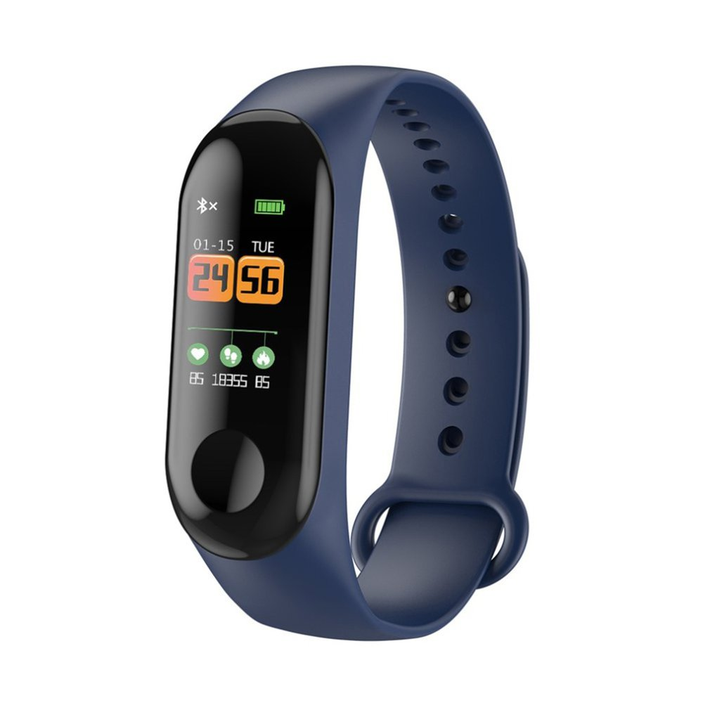 Smart Band Watch Bracelet Fitness Tracker Pedometer Blood Pressure Heart Rate Monitor Waterproof Wristband Toiletry Kits