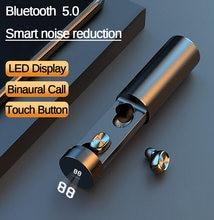 B9 наушники вкладыши tws Беспроводные с микрофоном громкой связи