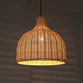 Japanese Wood LED Chandelier Innovative LED Pendant Lamp Tea House Dining Kitchen Fixtures Hanging Lamps Luminaire