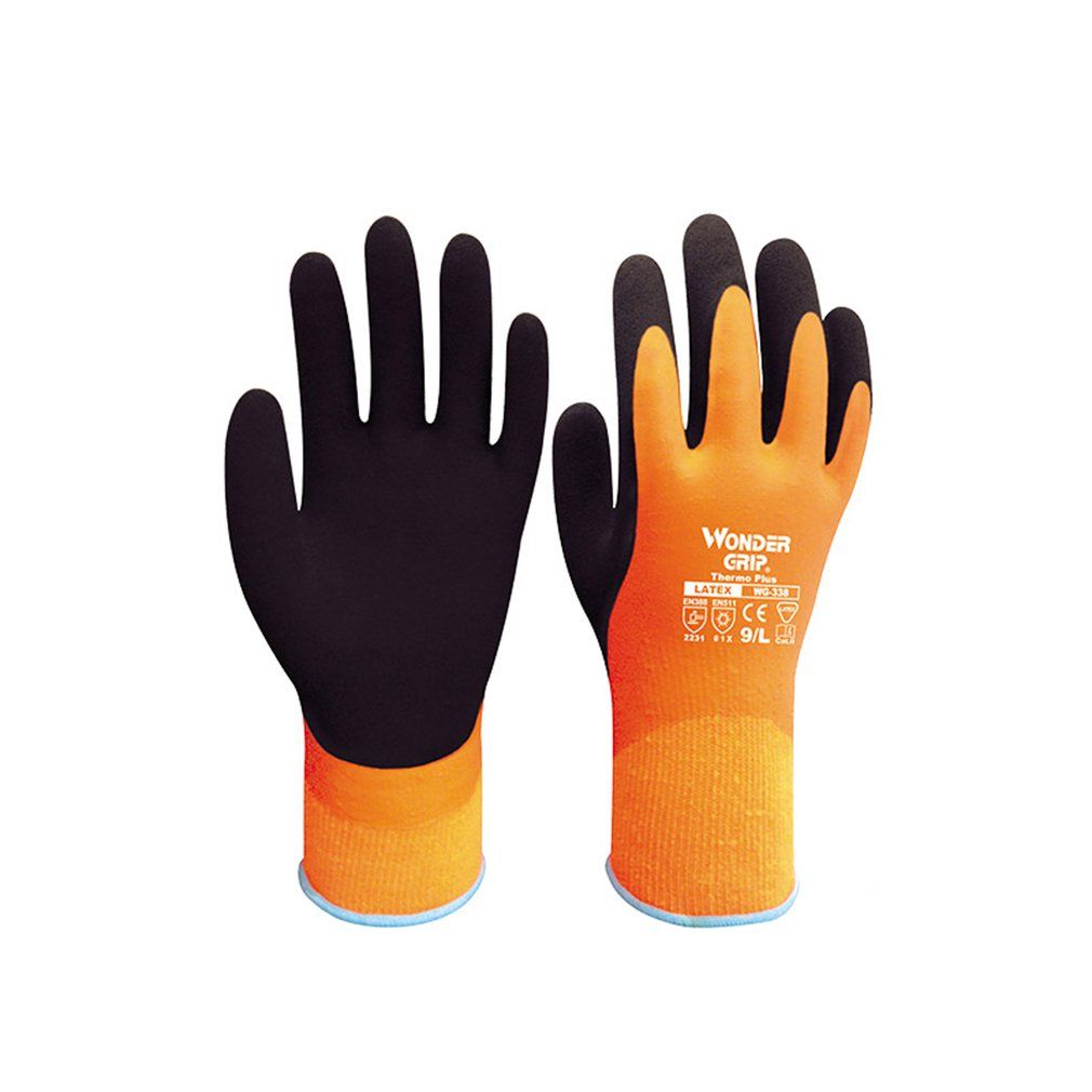 WG-338 Anti-cut Gloves Garden Warm Safety Glove Acrylic Anti Cold Thermal Gloves Waterproof Winter Cold Proof Work Gloves