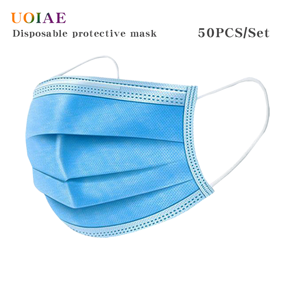 Disposable Protective Face Mouth Masks Anti Influenza Mascherine Antivirus Bacterial Facial Dust-ProofSafety Adult Children Mask