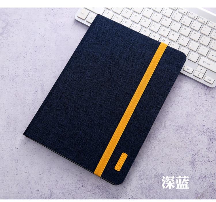 Dark blue White High Quatity Case For iPad Pro 11 2020 A2228 A2068 A2230 A2231 cases Silicon Cloth Stand
