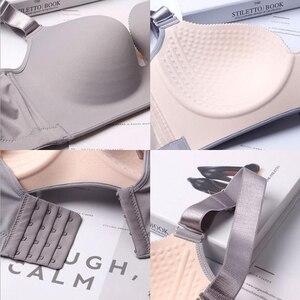 Image 3 - Mode Sexy soutiens gorge pour femmes Push Up Lingerie sans couture soutien gorge Bralette sans fil brassière femme sous vêtements intimes