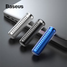 Baseus автомобильный освежитель воздуха Духи клип авто Ароматизатор для автомобиля Запах Диффузор кондиционер твердый парфюм в автомобиль аксессуары