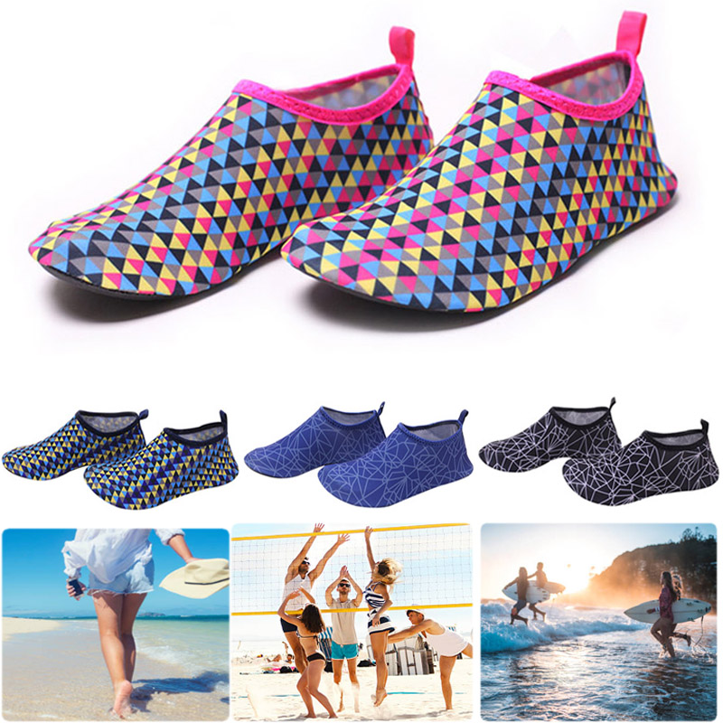 Adult Beach Swimming Water Sport Socks Anti Slip Shoes Yoga Fitness Dance Swim Surfing Diving Underwater Shoes Swimming Fins D40