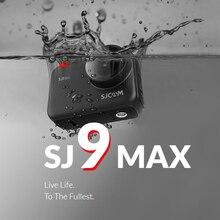 SJCAM SJ9 Max Gyro/EIS родная 4K30FPS WiFi Удаленная Экшн-камера Novatek NT96683 чип прямая трансляция 10 м корпус Водонепроницаемая камера