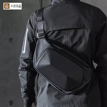 Youpin TAJEZZO polyèdre sac à bandoulière Pack sac de poitrine pour hommes Anti vol épaule sacs de messager mâle étanche court Tr