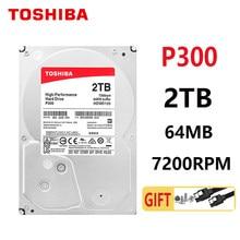 TOSHIBA 2TB P30 Festplatte festplatte 2TB 2000GB Gaming spiel Interne HDD HD 7200RPM 64M SATA3 3.5