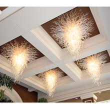 Luxury Large Crystal Chandeliers Ceiling Chandelier Lighting Foyer Staircase