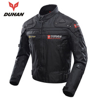 DUHAN Autumn Winter Motorcycle Jacket Windproof Motocross Full Body Protective Gear Moto Clothing Motorbike Riding Jacket