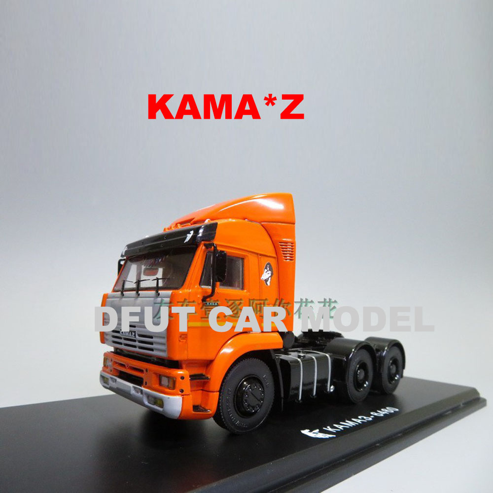 1:43 Alloy Vehicles Russia KAMA Z MA3-5337  706 MTTN 377C Truck Head Model Of Children's Toy Car Original Authentic Kids Toys