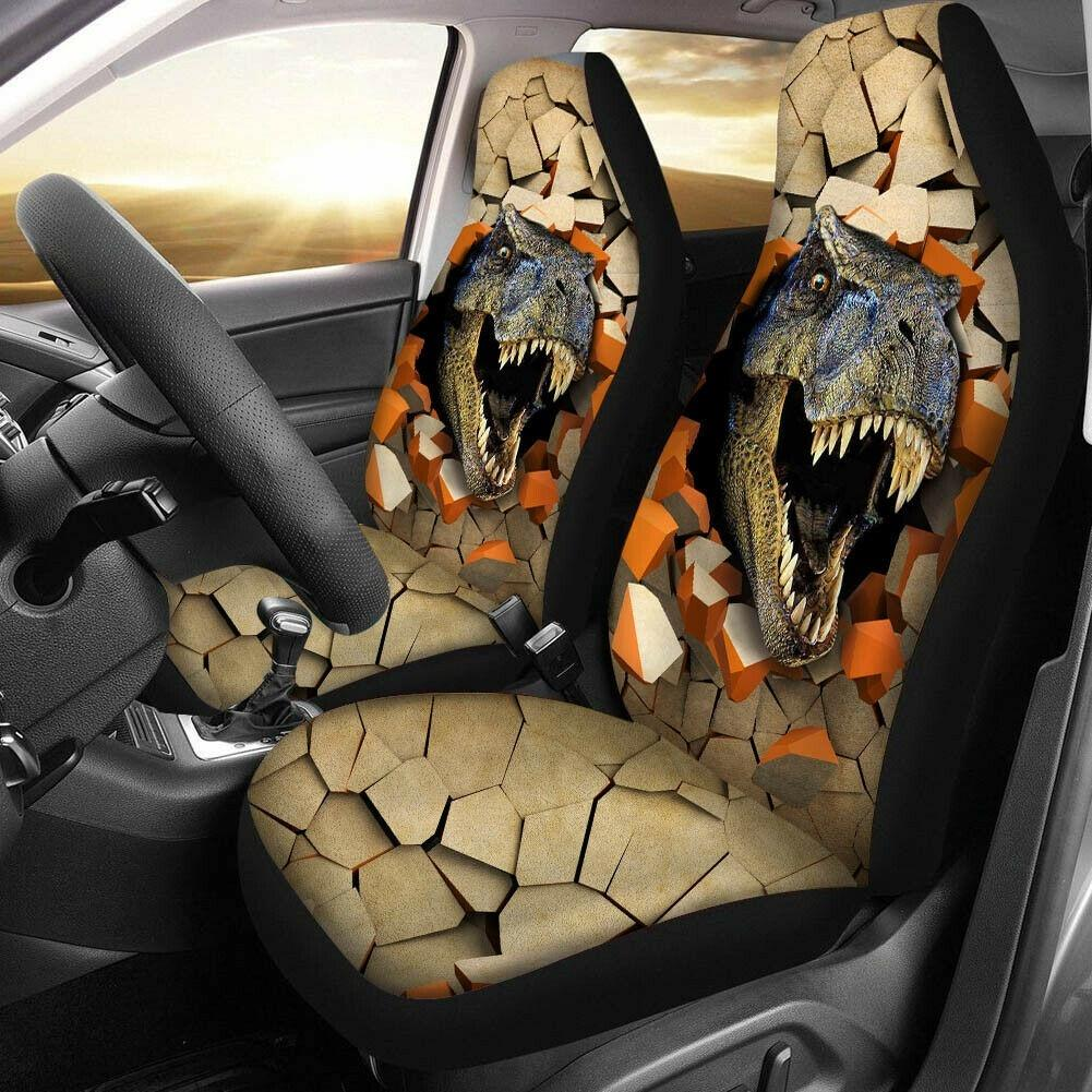 12PCS Universal Car Seat Cover Set Animal Print Car Seat Case Set with Steering Wheel Cover and Seat Covers All Year Round Use Fit for Most of Cars,Trucks,SUV,