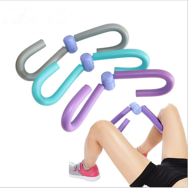 PVC Thigh Yoga Pilates Exercisers Home Gym Thigh Master Leg Muscle Arm Chest Waist Exerciser Workout Machine Fitness Equipment