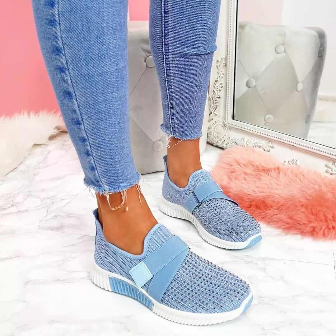 sapatos deslizamento em confortável sola correndo sapatos