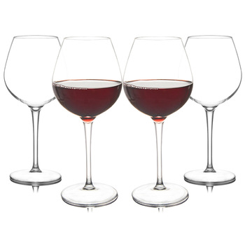 Plastic American Transparent Unbreakable Silicone Plastic Wine Glass Cups Bar Home Goblet