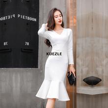 Dress Cotton Vintage Wear to Work vestidos Business Party Bodycon Office Elegant