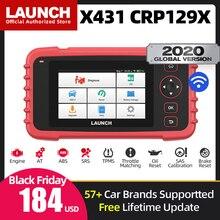 השקת X431 CRP129X רכב OBD2 סורק רכב כלי אבחון אוטומטי קוד קורא OBDII Creader 129X PK CRP129