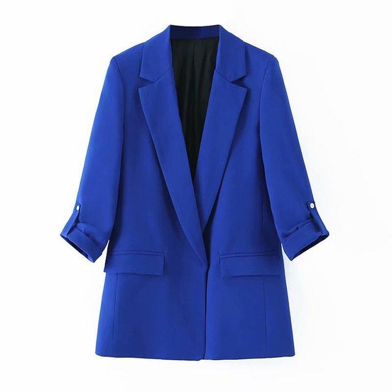 Fashion Long Blazer Women Fashion Casual Blazer Long Sleeve Women Clothes Blazer Feminino Blazer Feminino Blazer Mujer 2019 New in Blazers from Women 39 s Clothing