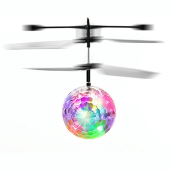 Children Outdoor Aircraft Toys Flying RC toy Electric Ball LED Flashing Light Aircraft Helicopter Induction Toy Mind Control Toy 1